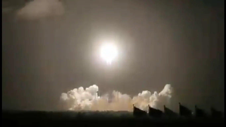 Полет ракеты