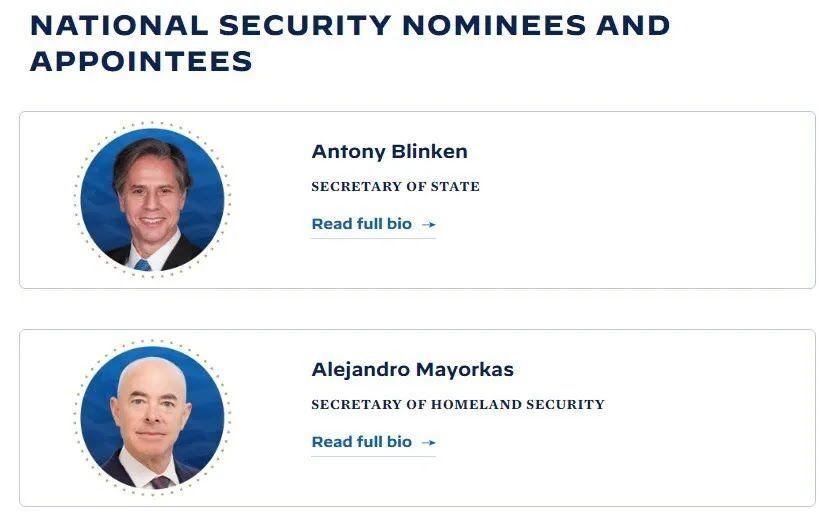 Штаб Байдена назвал фамилии тех, кто возглавит ключевые должности в его администрации.