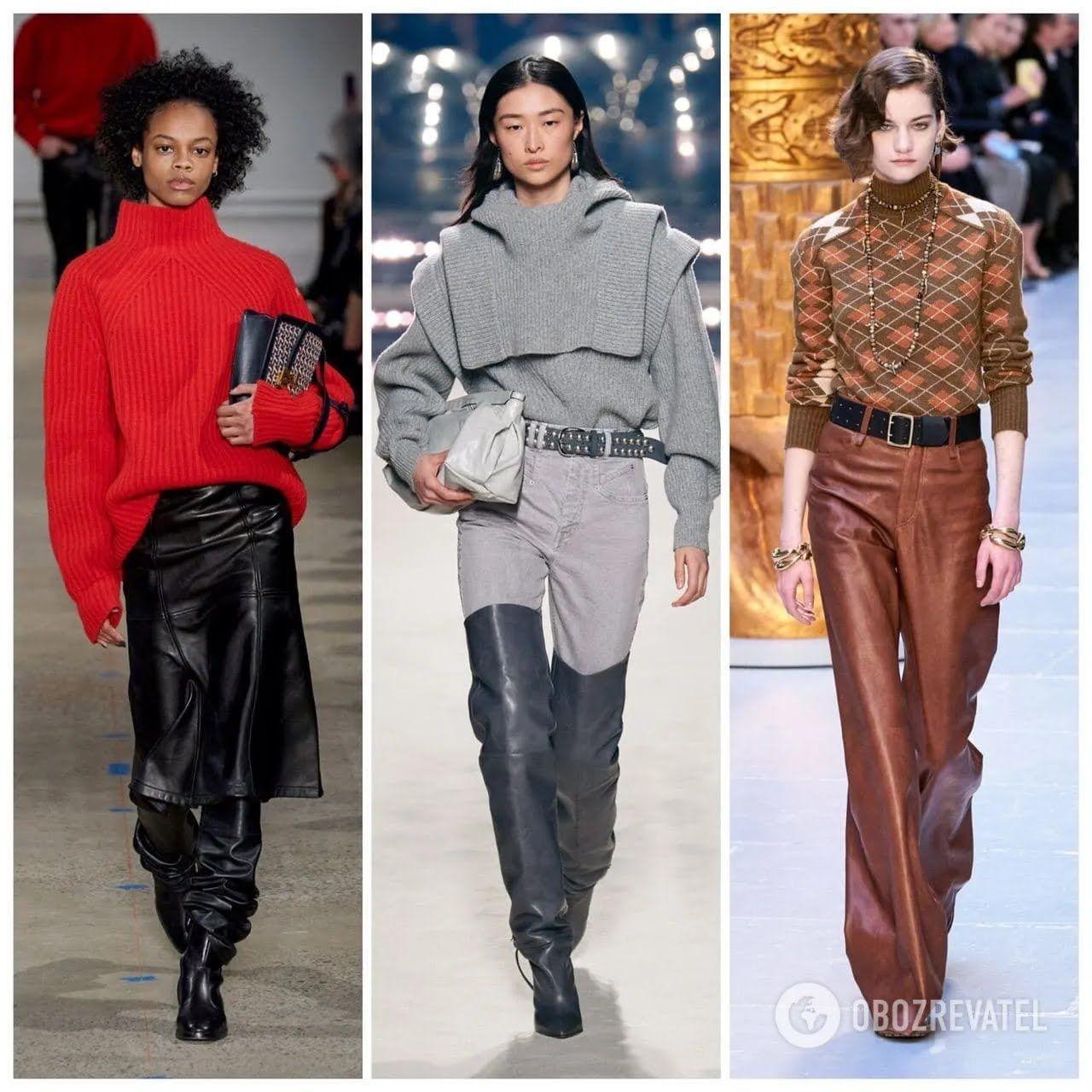 Модные свитера зима 2020-21