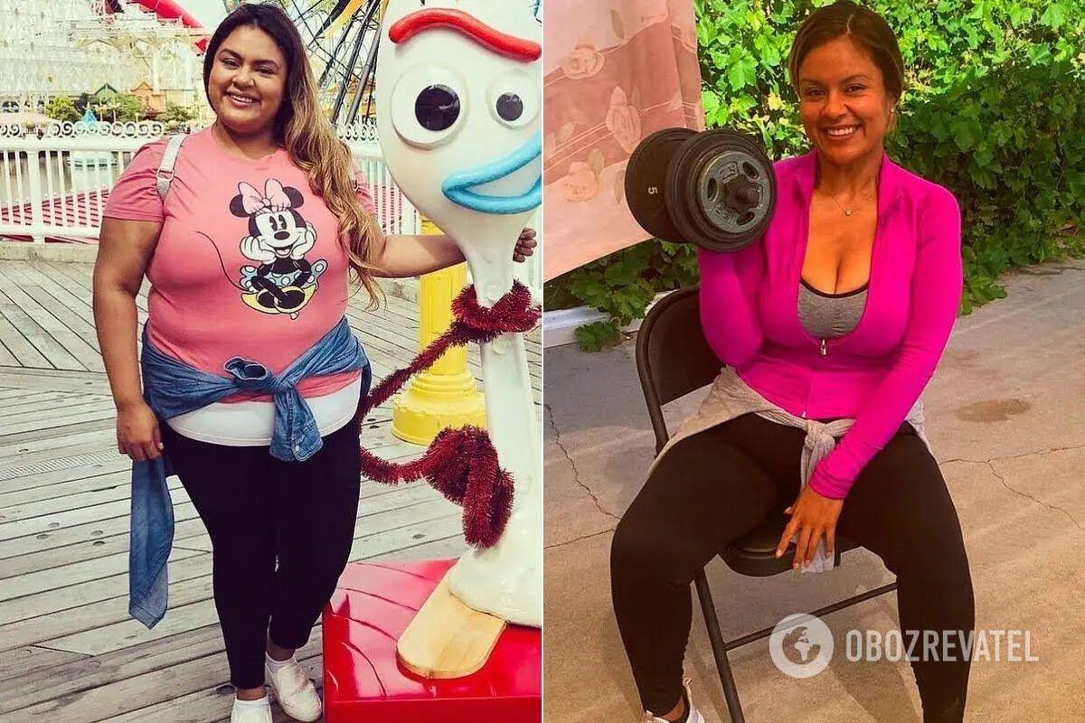 Наталі Варгас розкрила секрет схуднення