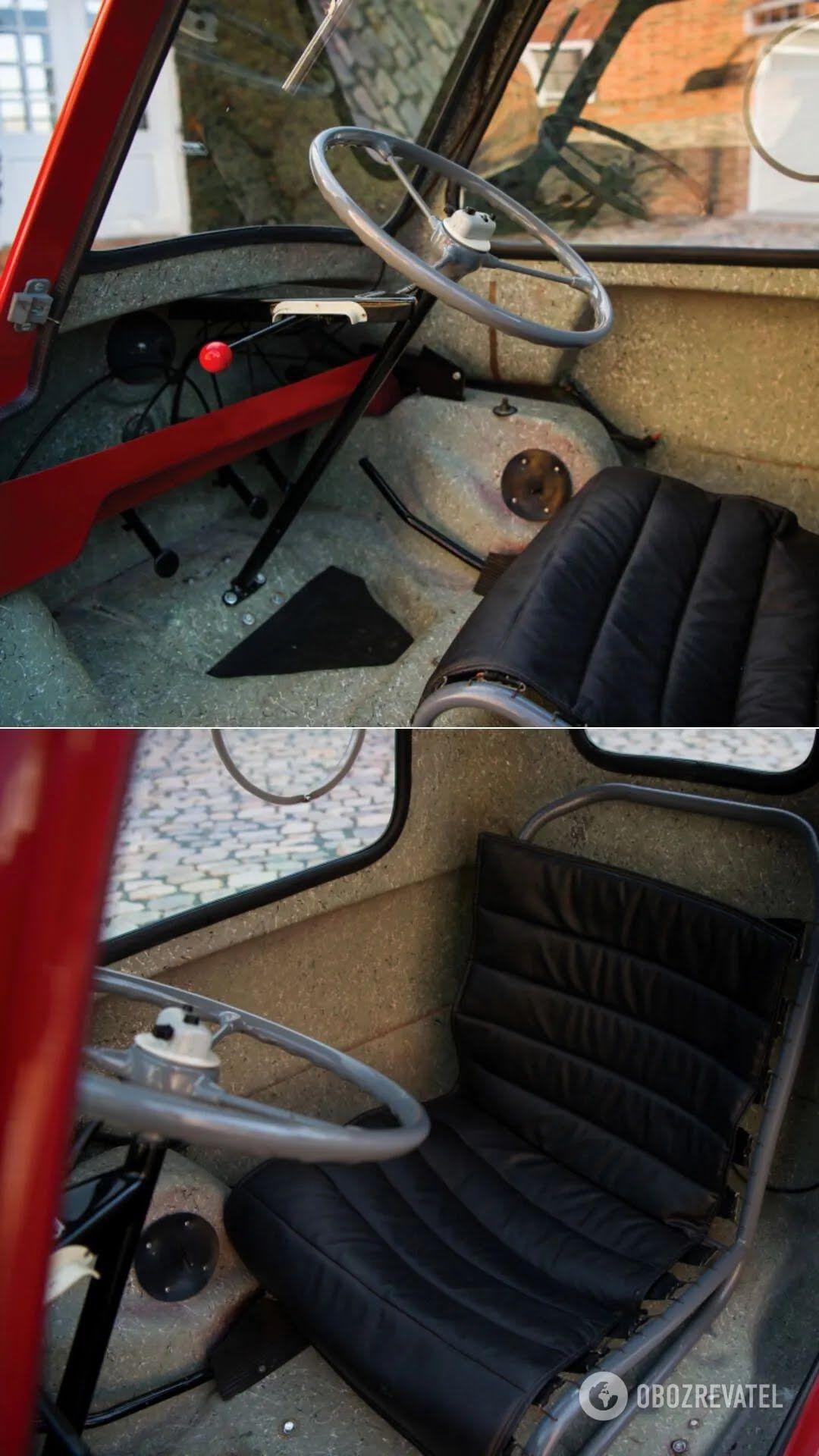 У Peel P50 – 49-кубовый двухтактный двигатель от мопеда с мощностью в 4,2 л. с.