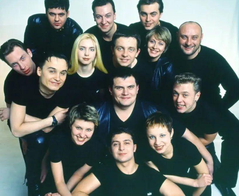 """Молодые актеры студии """"Квартал 95""""."""