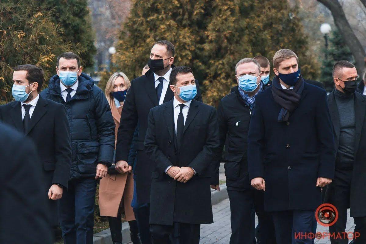 Зеленський відвідав Дніпро 26 листопада.
