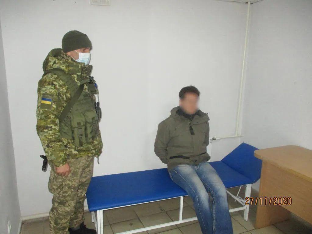 Гражданина Германии задержали, когда он направлялся в Россию