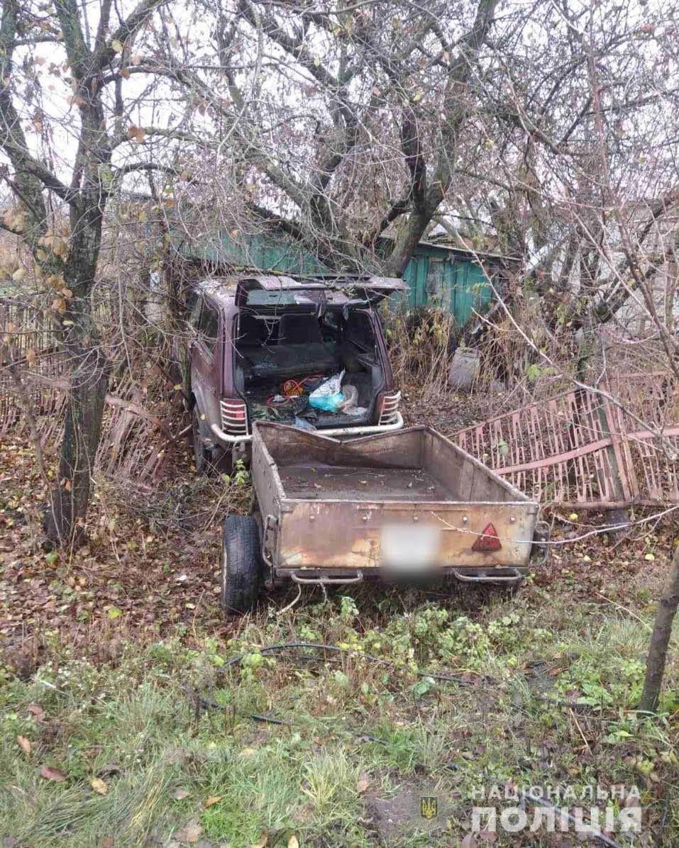 """Второй угнанной машиной стал """"ВАЗ-2121""""."""