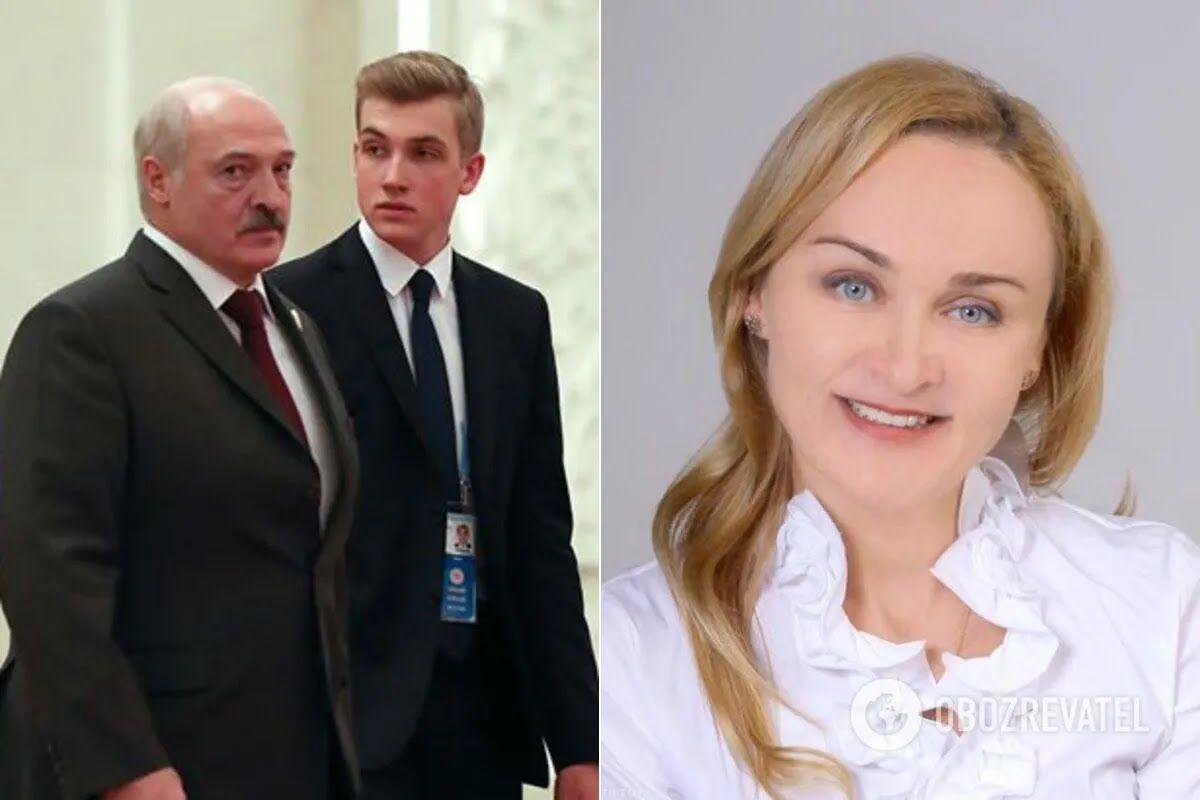 Александр Лукашенко и Ирина Абельская