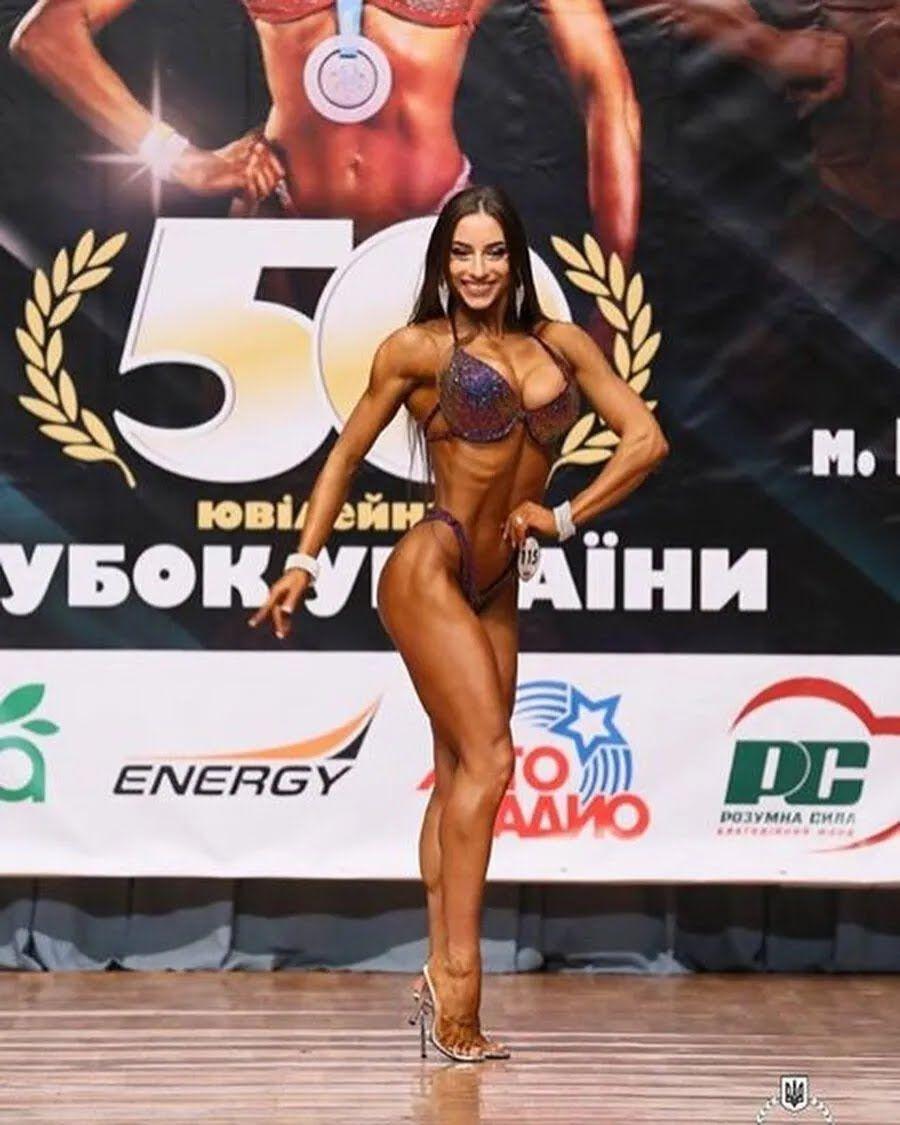 Юлия Высоцкая на турнире