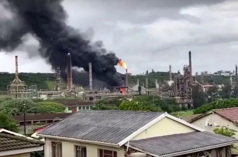 Взрыв на заводе в ЮАР