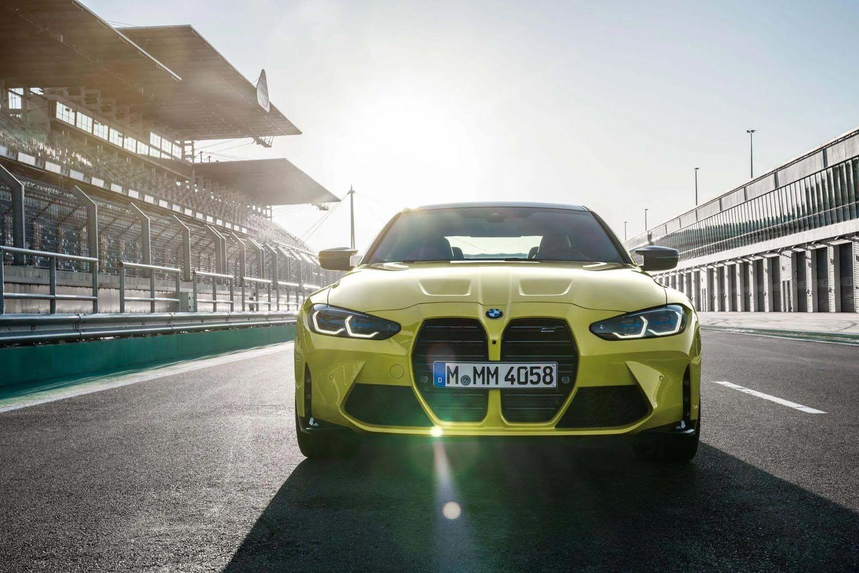 BMW M4 2021.