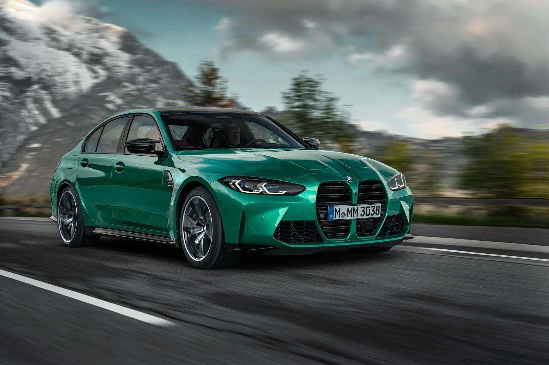 BMW M3 2021.