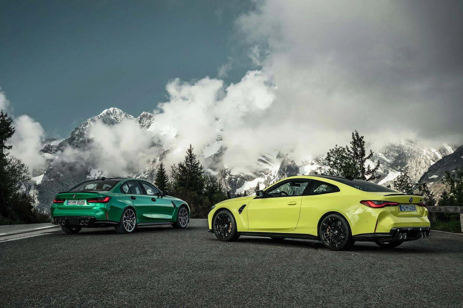 BMW M3 2021 и M4 2021.