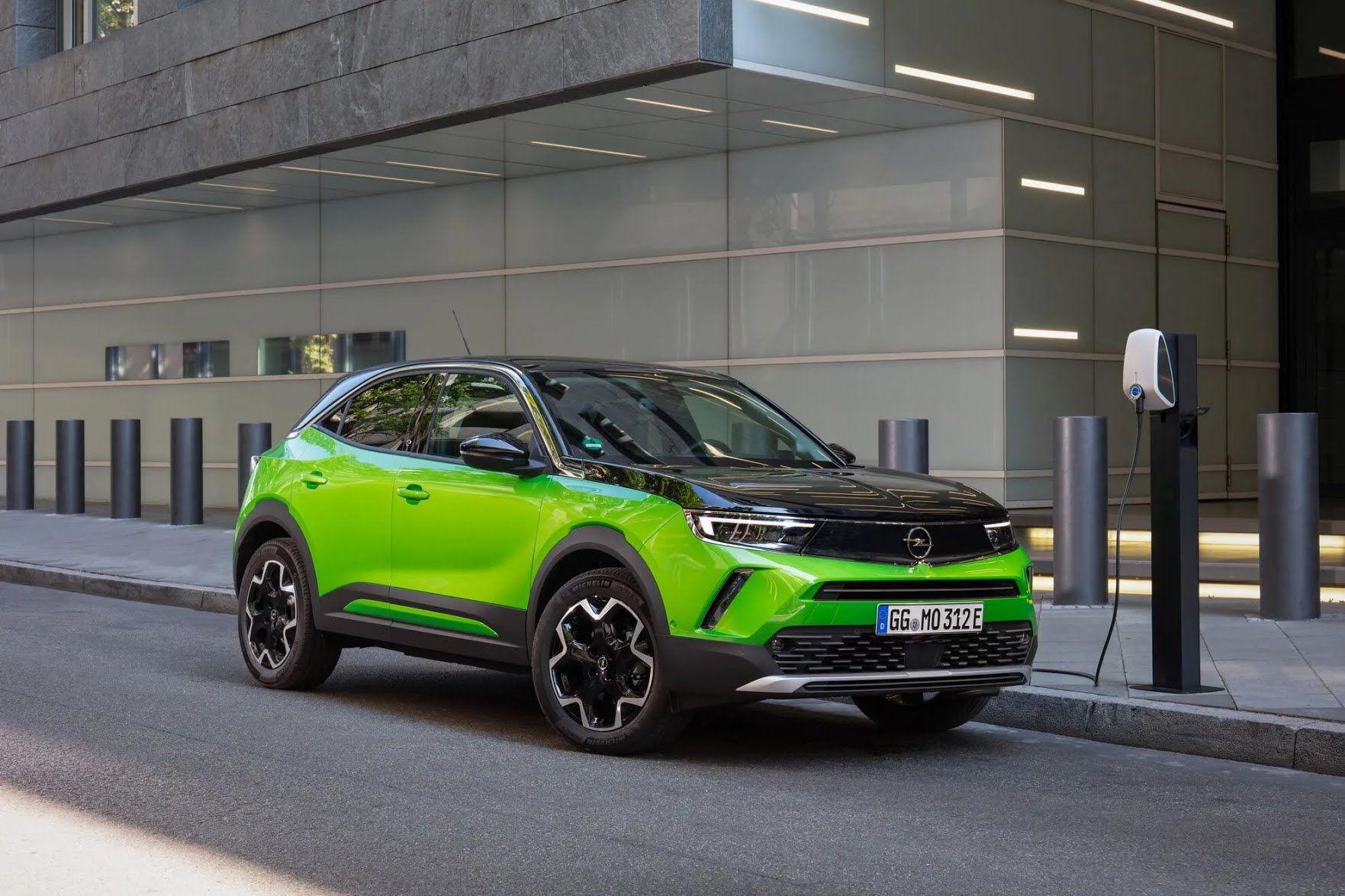 Электрический Opel Mokka-e 2021. Фото: