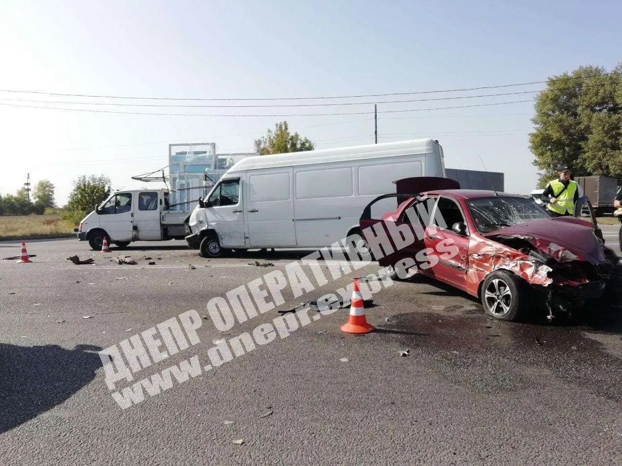 ДТП произошло на пересечении улиц Аэропортовской и Яснополянской.
