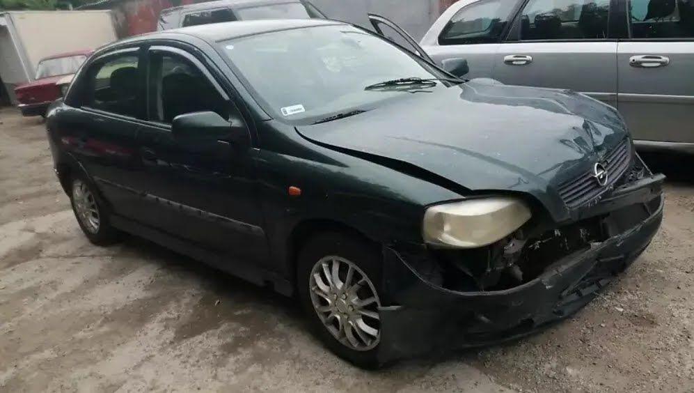 Opel Astra после ДТП за 2000 евро.