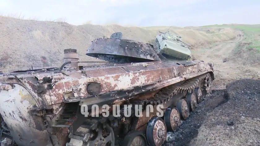 Танк Азербайджана.