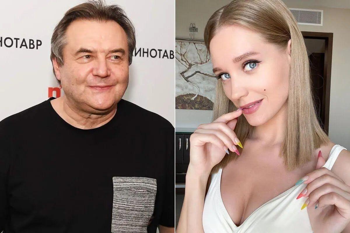 Алексей Учитель и Кристина Асмус. коллаж