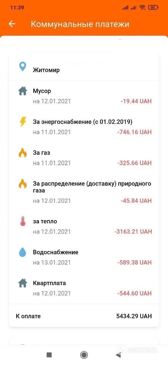 Платежка в Житомире