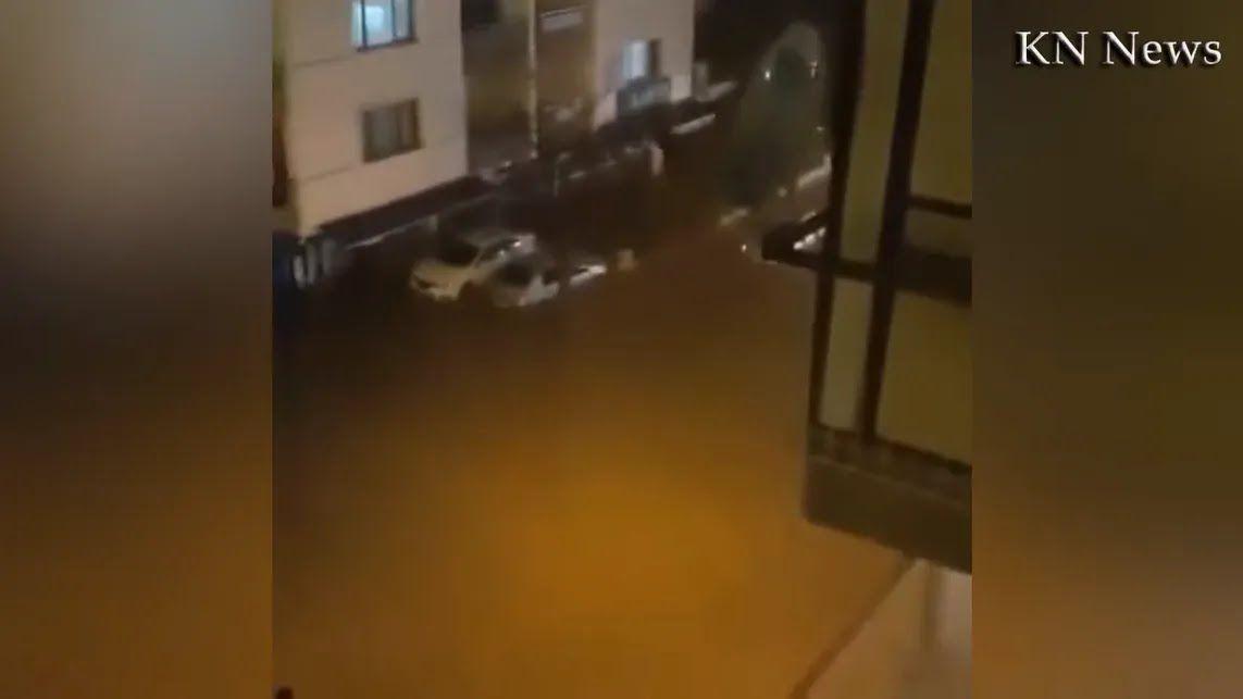 Турецкий Измир затопило