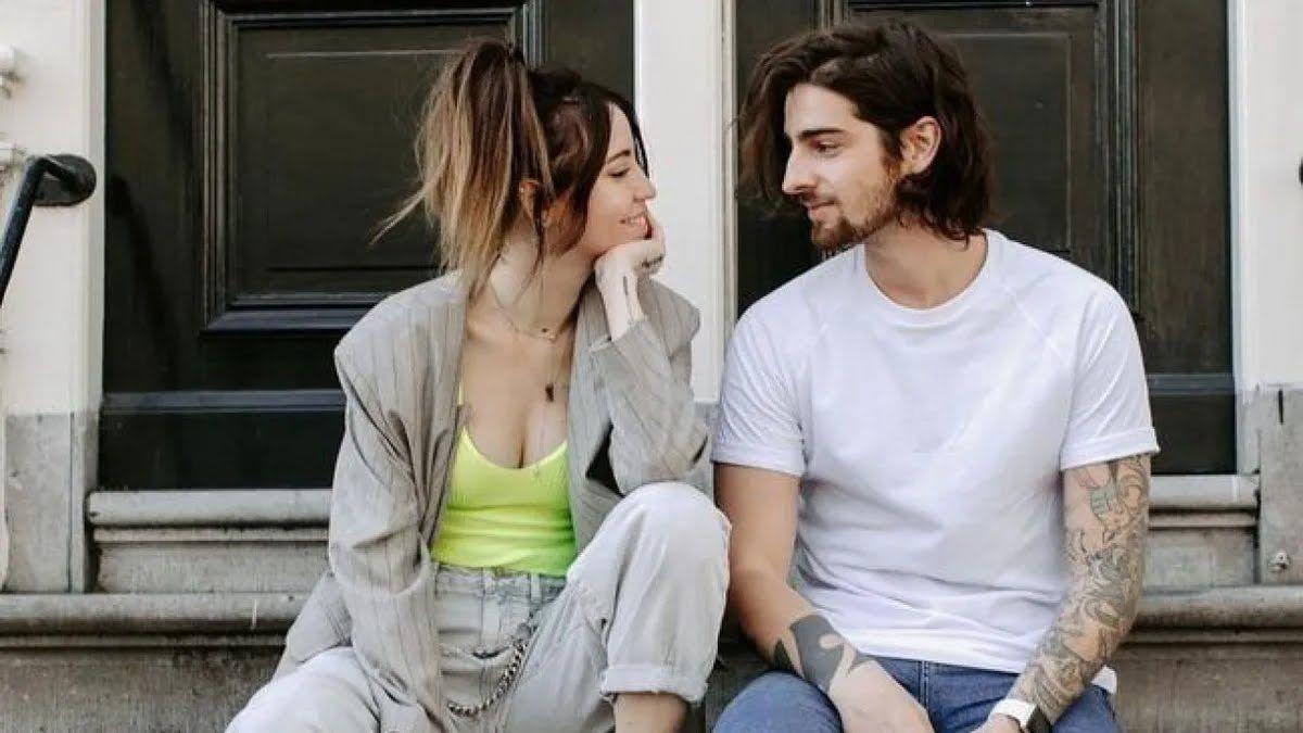 Українська співачка Надя Дорофєєва зі своїм чоловіком