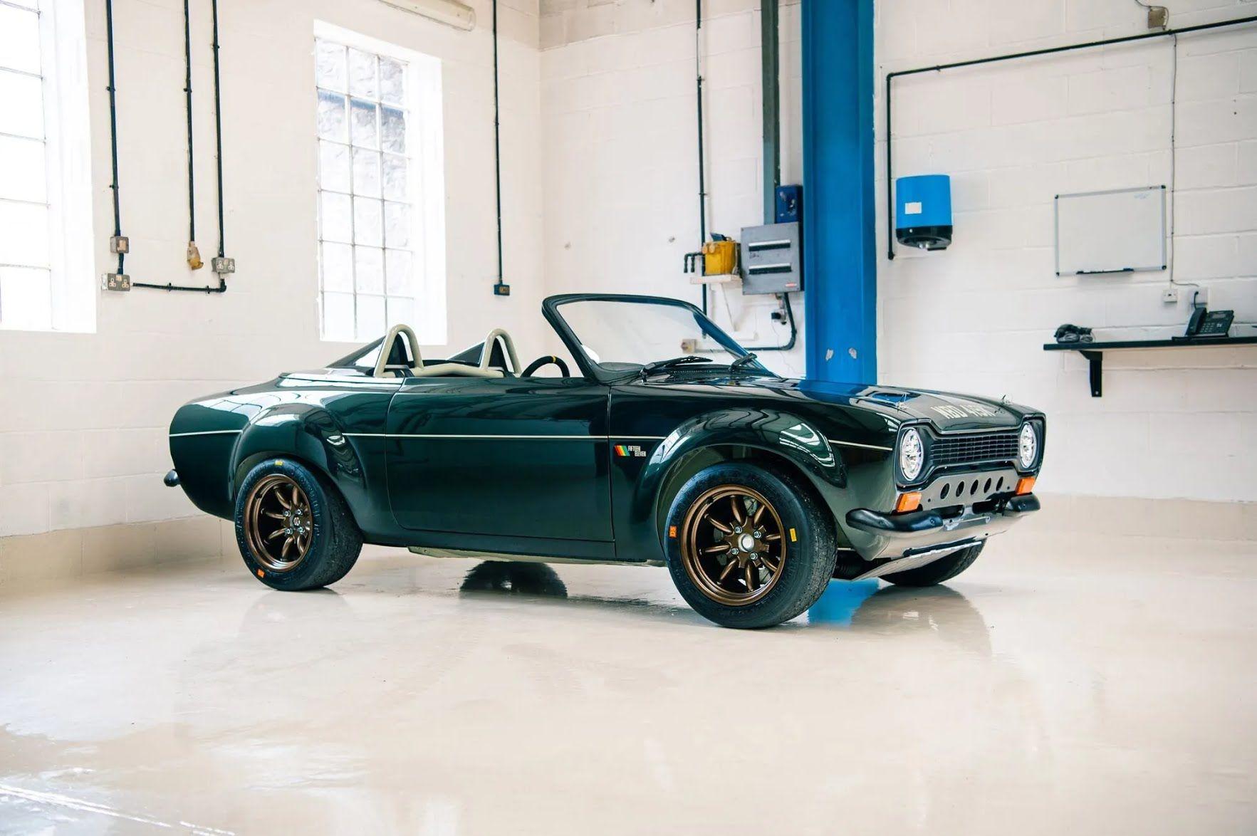 Первым рестомодом компании Fifteen Eleven Design стал Ford Escort Mk1 1972 Speedster