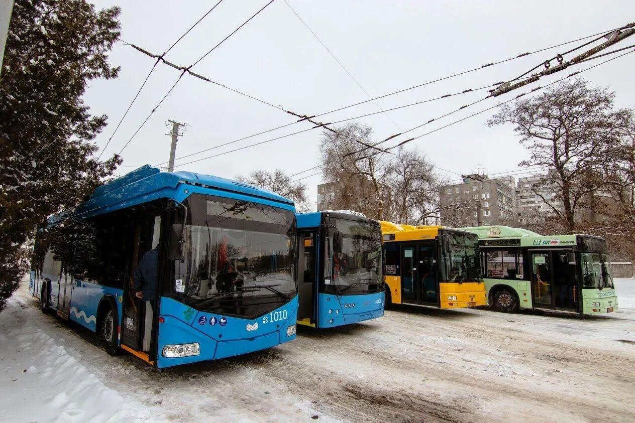 В Днепре капитально обновили общественный транспорт