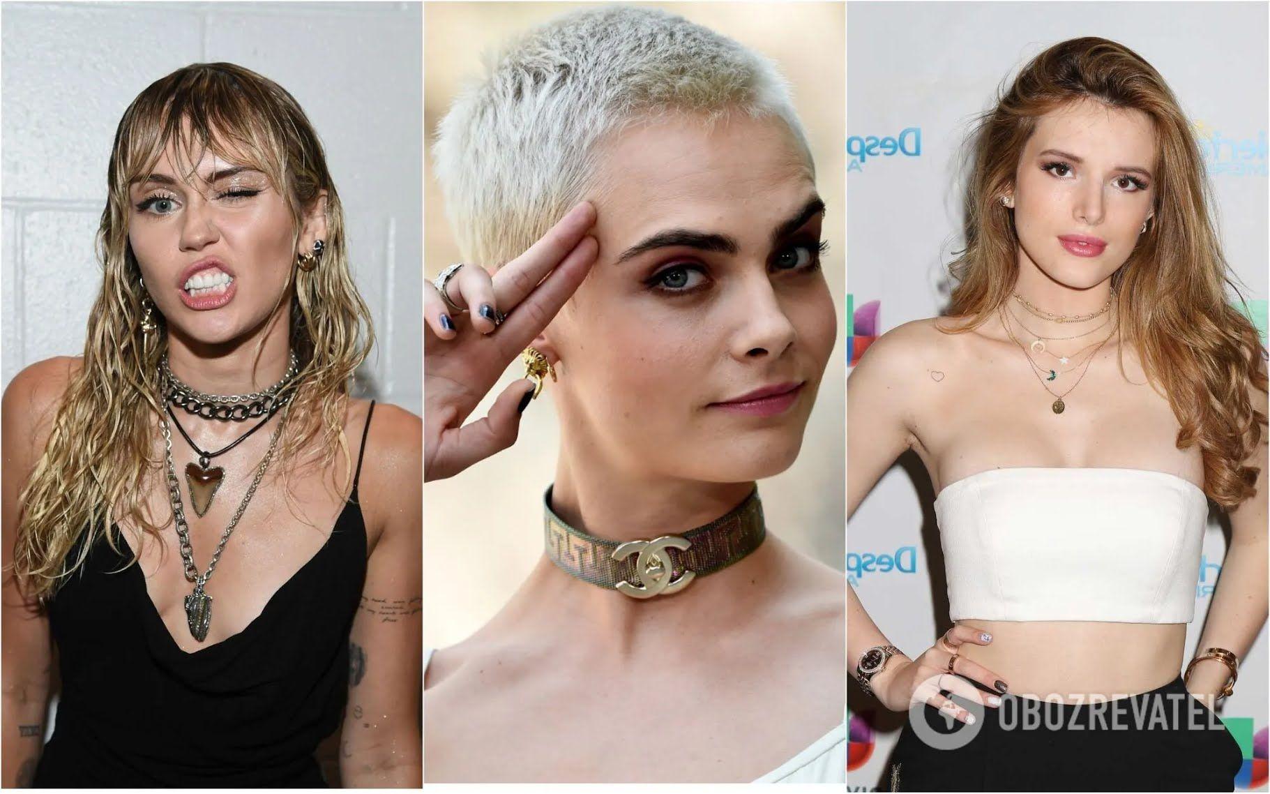 Кара Делевинь, Майли Сайрус и Белла Торн объявили, что они пансексуалки.