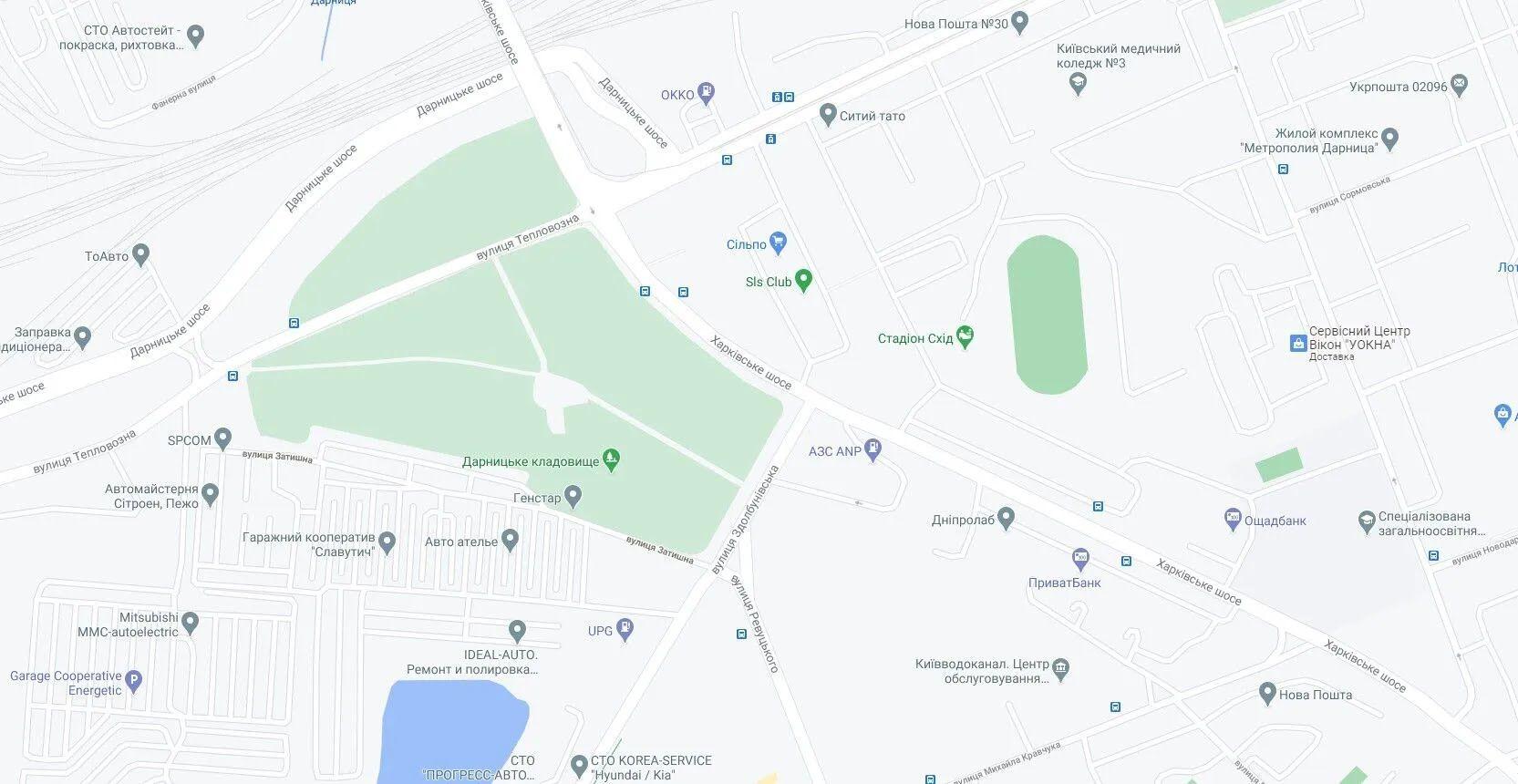 ДТП сталася на перехресті вулиць Здолбунівської та Харківського шосе.