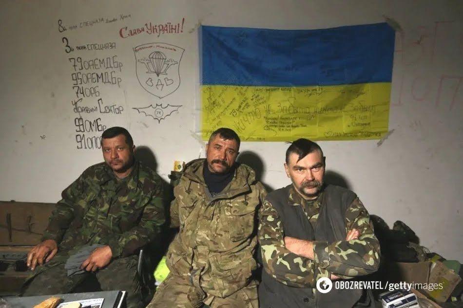 """Украинские """"киборги"""" в ДАП"""