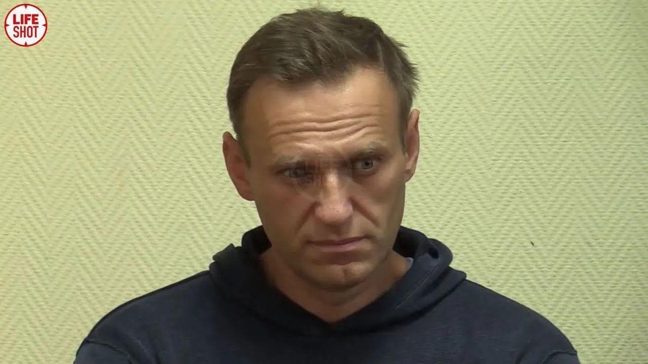Навальный на заседании суда