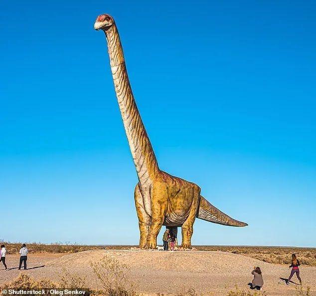 Возможное изображение динозавра