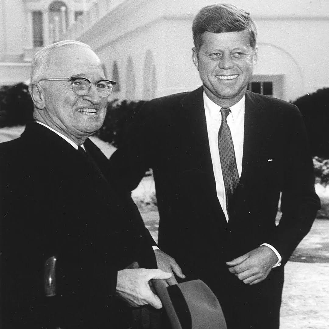 Джон Кеннеди и Гарри Трумэн