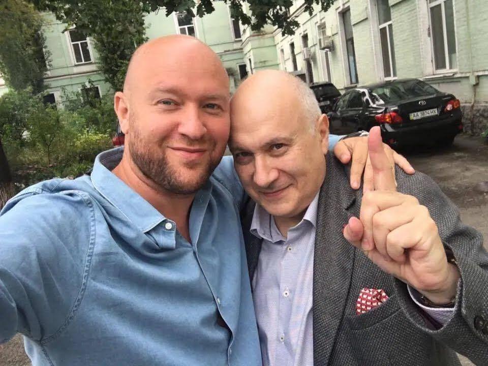 Російський і український журналіст Матвій Ганапольський