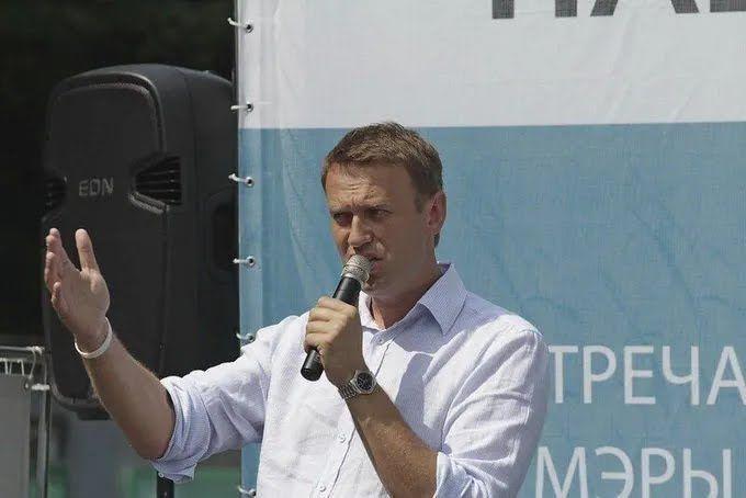 Олексій Навальний на одному зі своїх мітингів