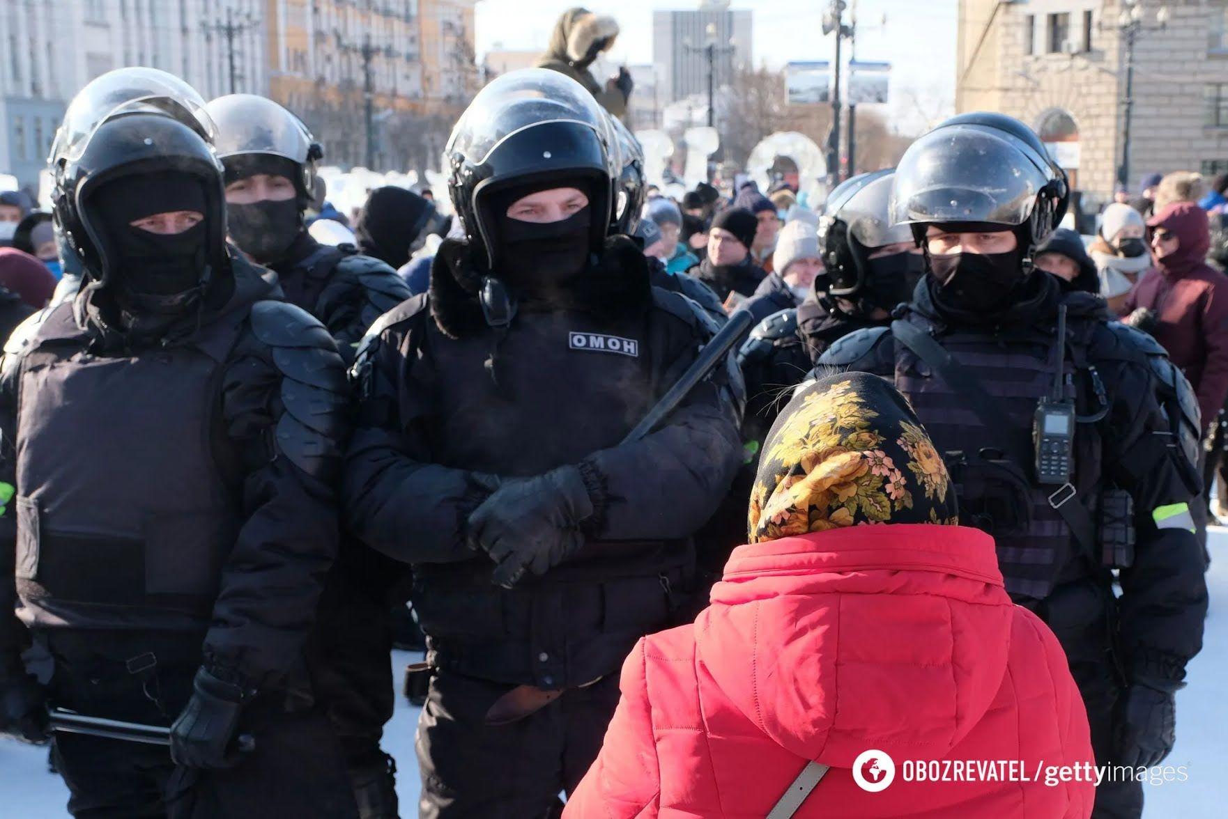 Мітинг в Хабаровську