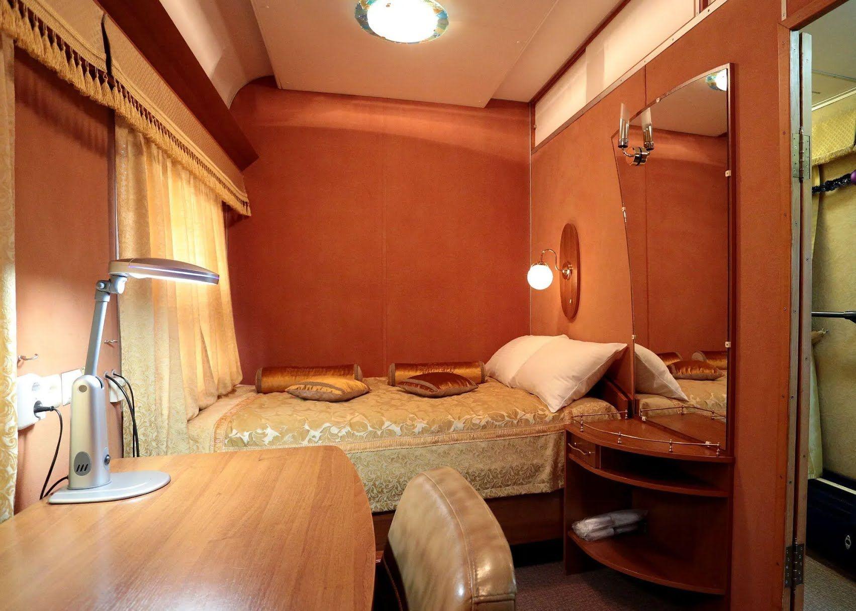 Спальня в вагоне
