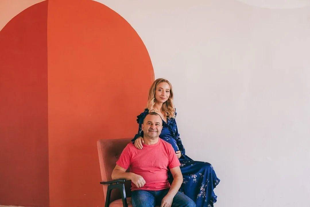 Екатерина Репяхова с мужем Виктором Павликом