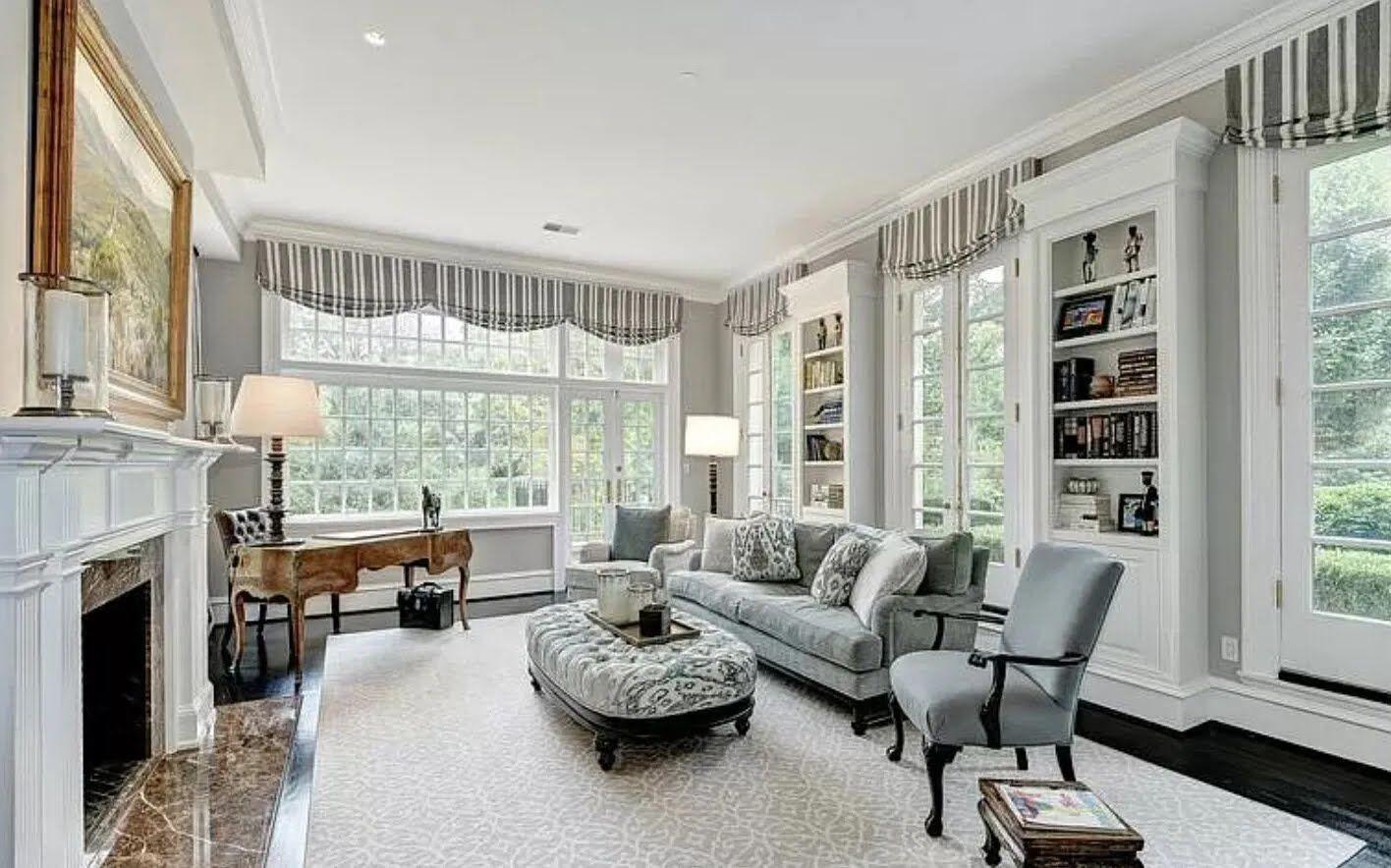 За этот особняк Байден отдавал за аренду $20 тыс. в месяц.