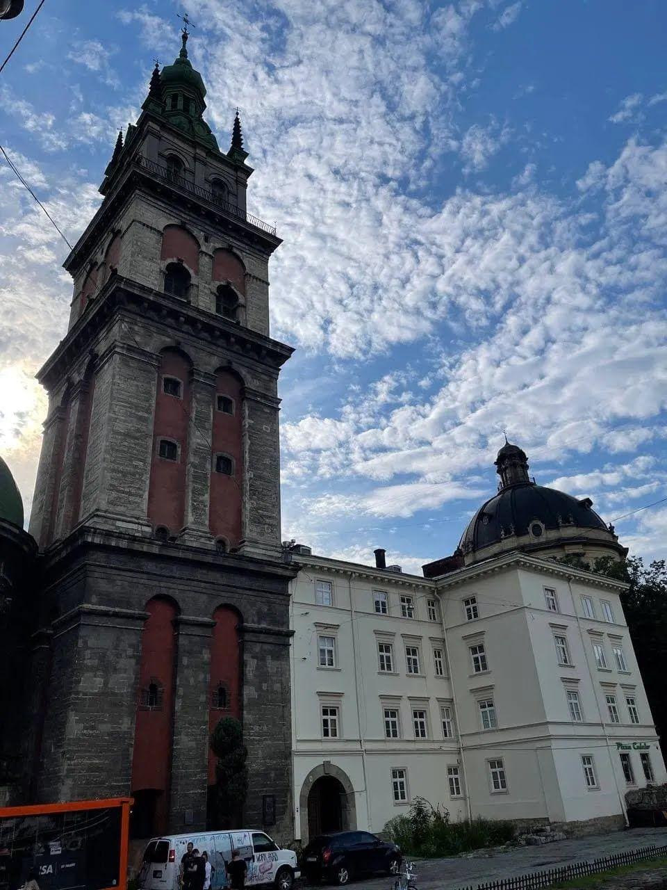 Львовские соборы и церкви является визитной карточкой региона.