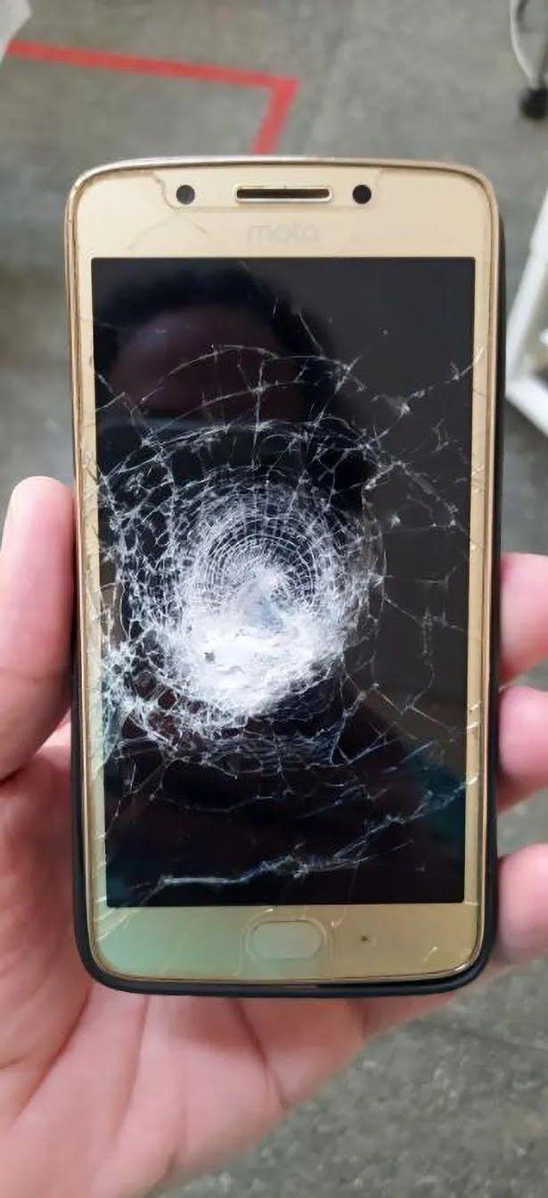 Розбитий телефон
