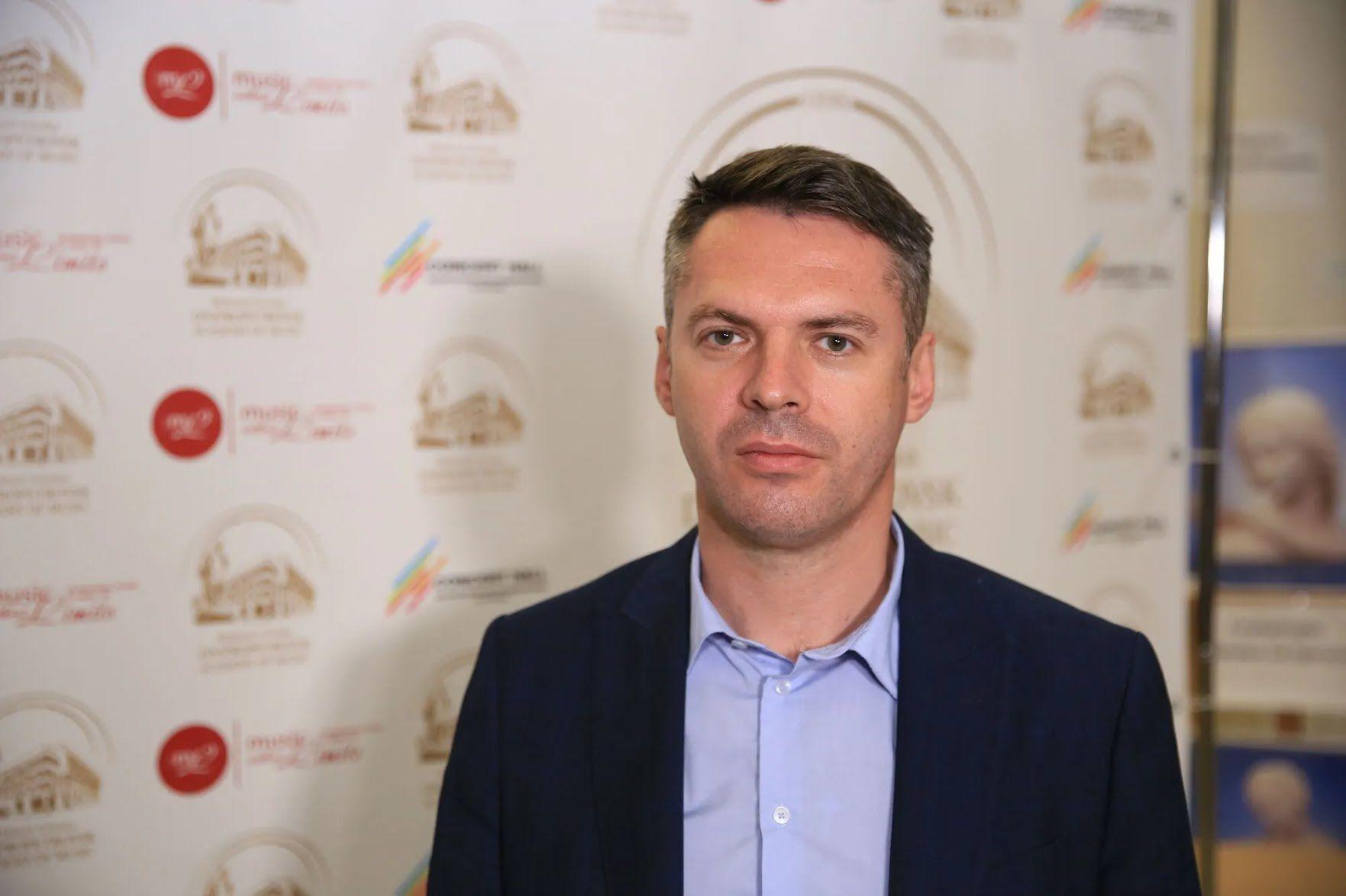 Начальник управления культуры департамента гуманитарной политики Днепровского городского совета Евгений Хорошилов