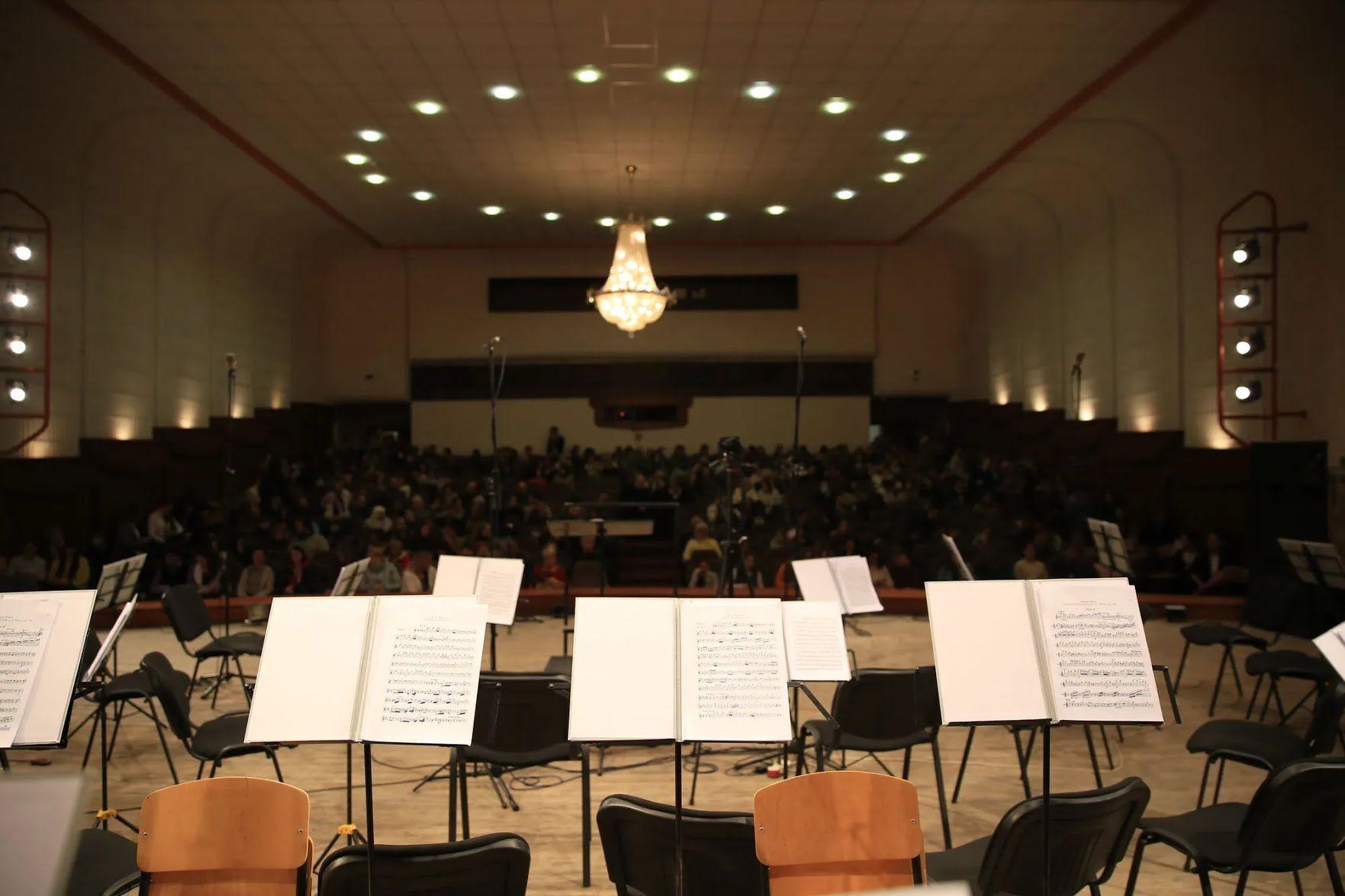 Первую часть программы посвятили австрийско-немецкой музыке