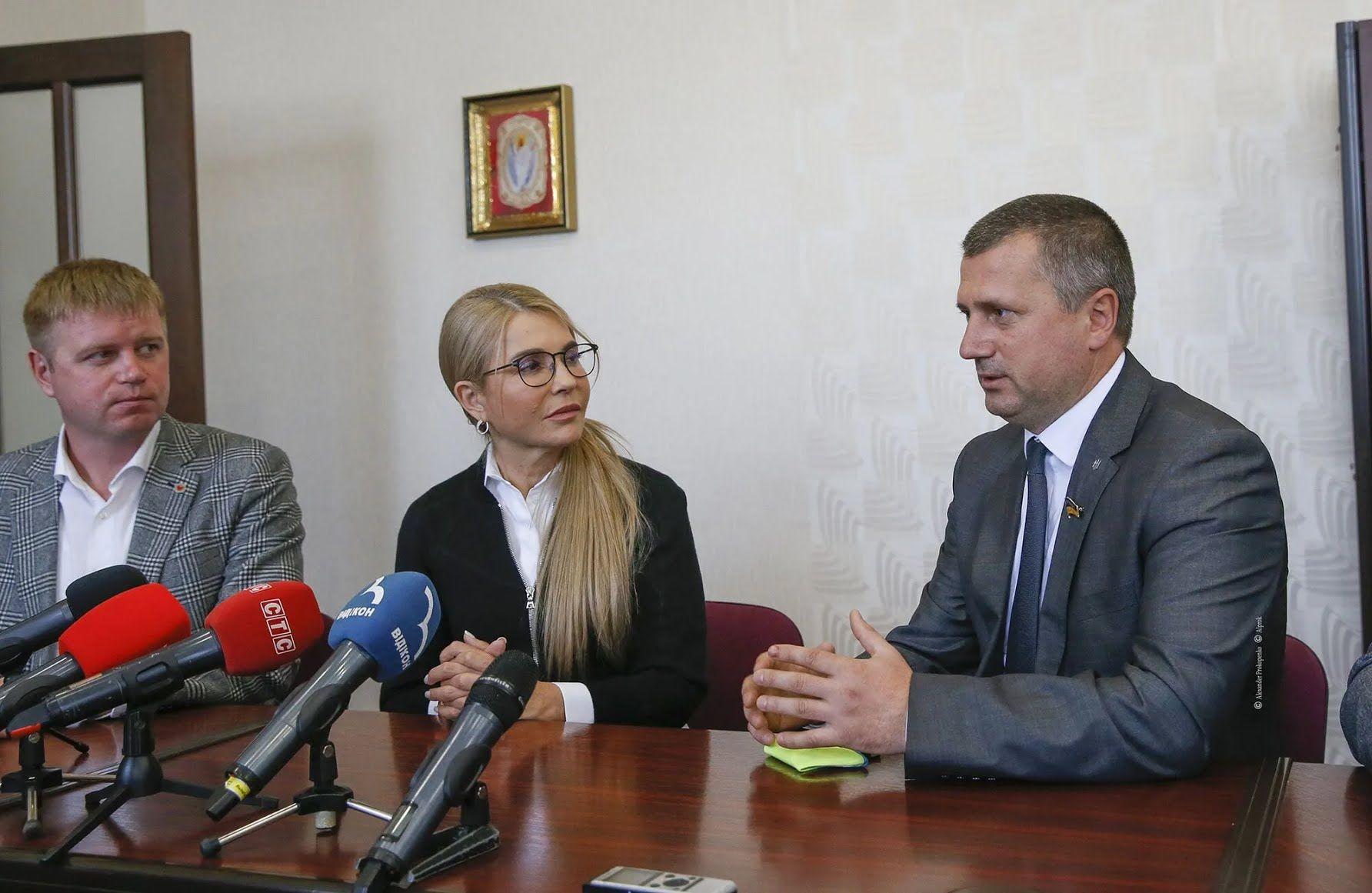 Юлия Тимошенко отметила, что поставит перед руководителями правительства вопрос о дорогих ценах на газ