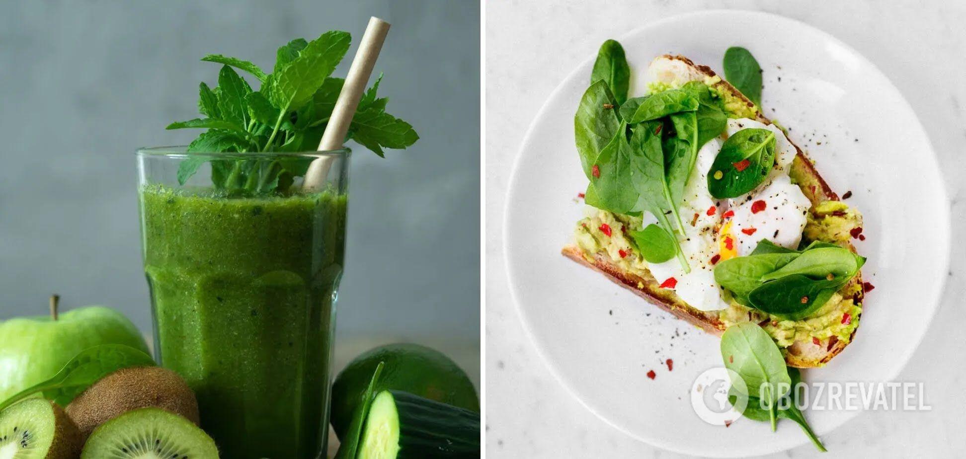 Смузі та авокадотост – корисні продукти