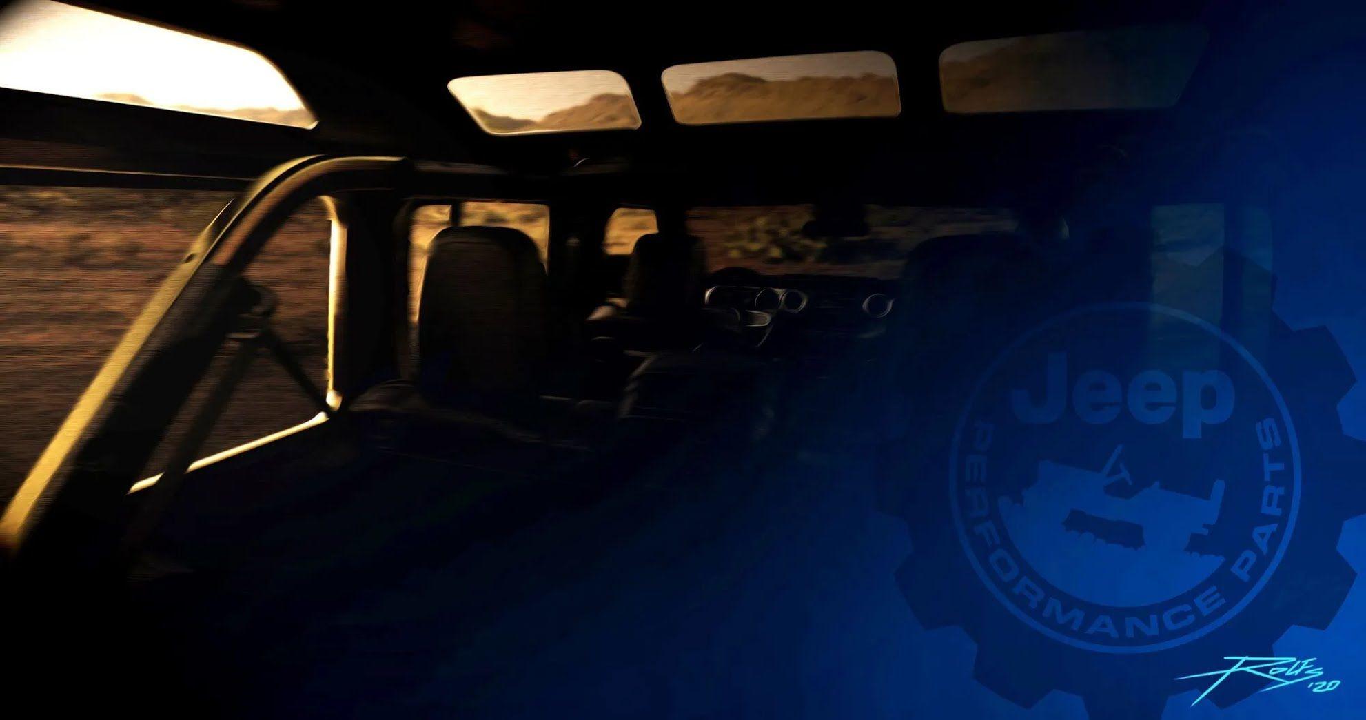 Длиннобазный Jeep Wrangler с надстройкой