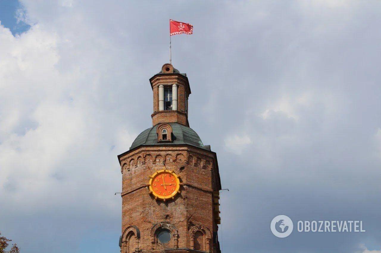 Водонапірна башта у Вінниці - популярна місцева пам'ятка.