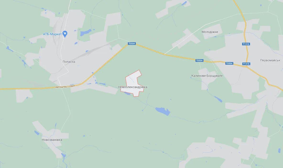 Село Новоалександровка