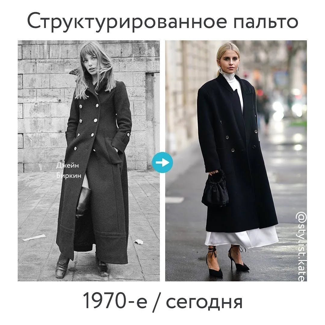 Структуроване пальто.