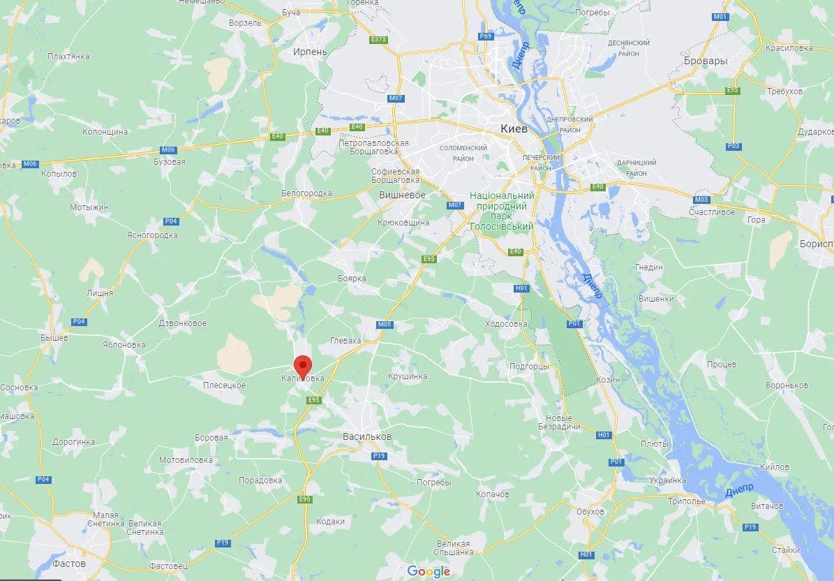 Інцидент стався в Калинівці.