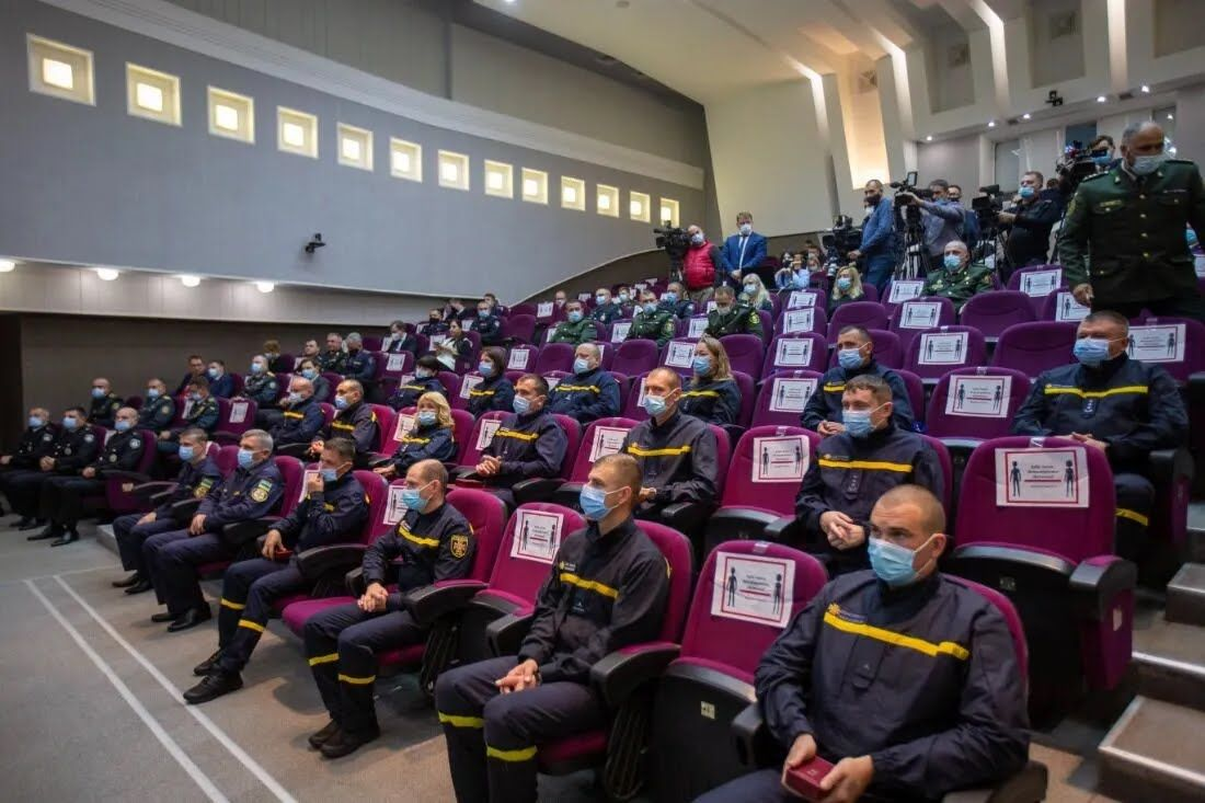 В МВД состоялось мероприятие по награждению военных
