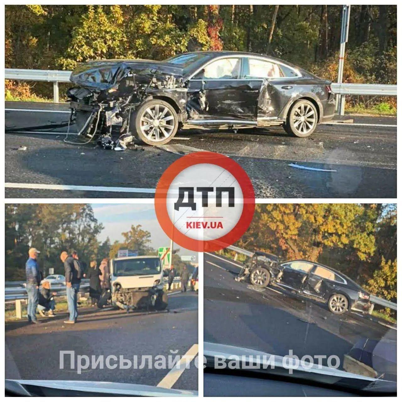 ДТП на Бориспольской дороге